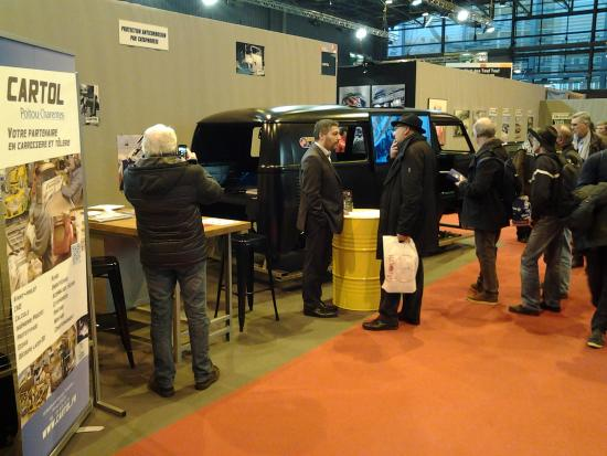 Retour du salon RETROMOBILE 2017