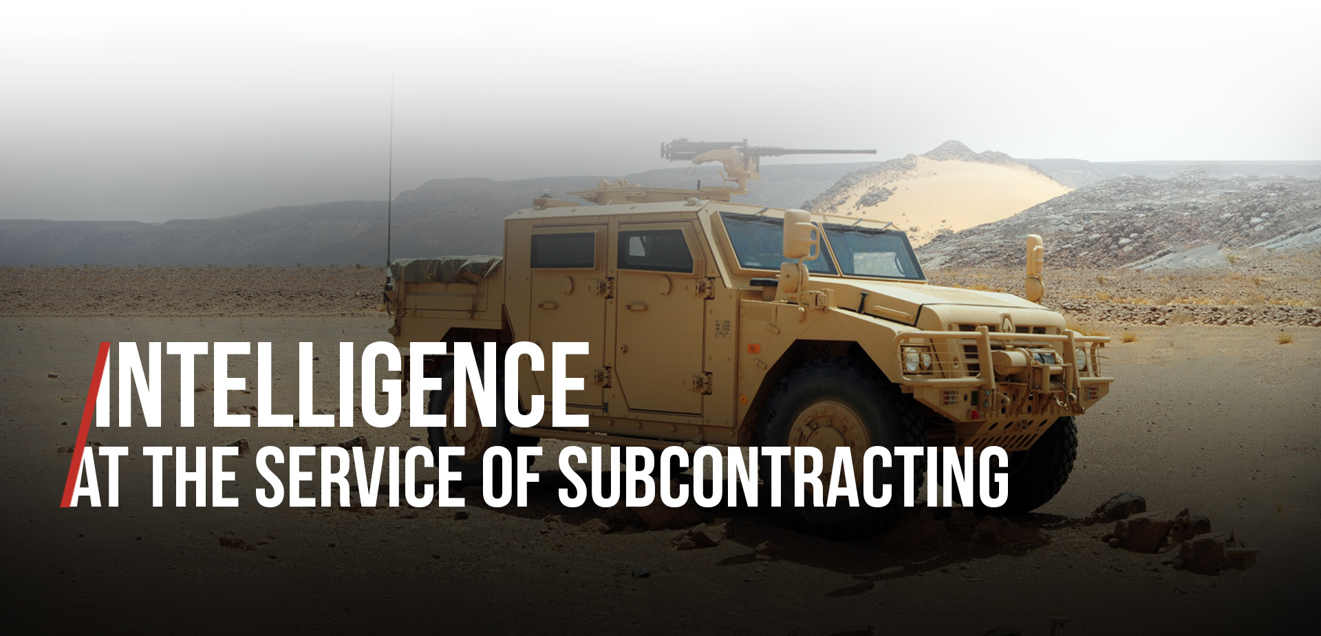 Intelligence at the service of subcontracting mobile