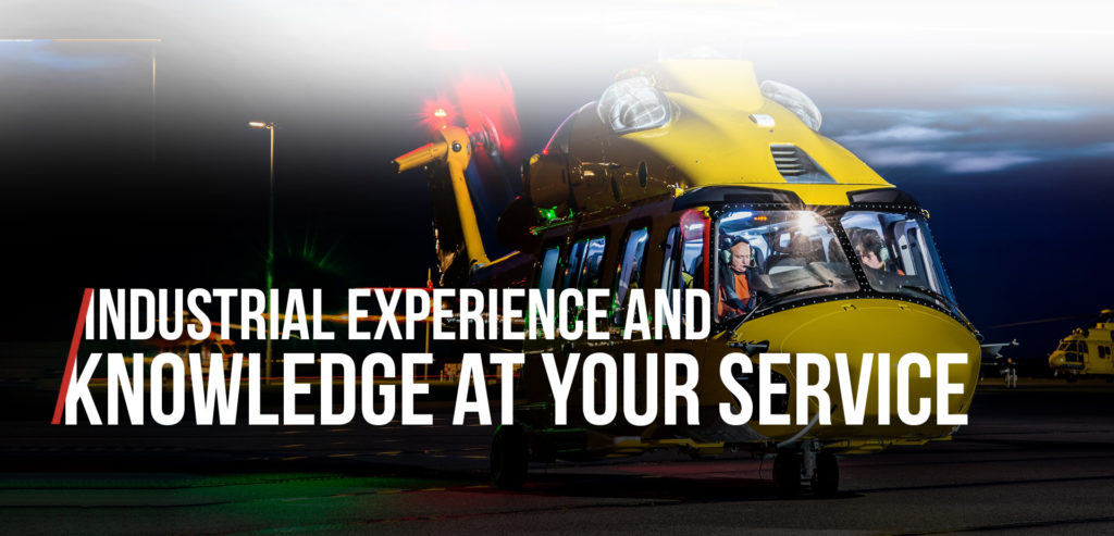 Industrial experience and knowledge at your service mobile